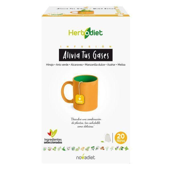 Herbodiet Relieve Your Gases - 20 saquetas